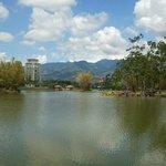 El lago de la Sabana.