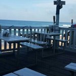Beautiful view and good food!