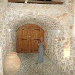 Inside of entrance to Meltemi Suites