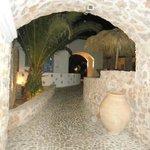 Entrance into Meltemi Suites