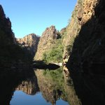 Boat trip to the Twin Falls