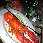 lobster enorme e bem cozido