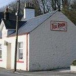 Woodlea Tearoom, approaching from Stranraer