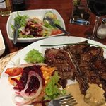 T-bone steak ...... yum