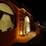 Fairyland Cave Hotel by night