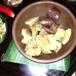 Balinese sausage and urapan
