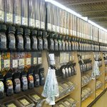 Huge specialty bulk section