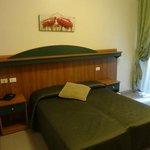 Bedroom of Hotel Papa Germano in Rome