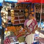 Фруктовый рынок в Колве