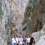 All'intero del canyon di Su Gorropu