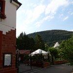 Hotel mit Pfälzer Wald