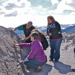 Guided walk on the Frank Slide Trail