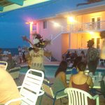 Bahamian BBQ with live music and dancing