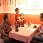 Roma, Chiran & Chirag  with News24 TV Chanels