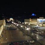 Piazza Vittorio veneto di notte