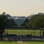 View of the White House from Washington Monument