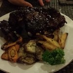 Barbeque prok ribs