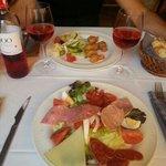 Salade Catalane et Accras de morue