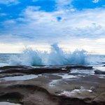 Pacific Ocean natural pools