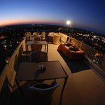 sitting place on roof top