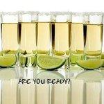 Shots de Tequila!