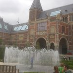 Fountains in Rijksmuseum gdns