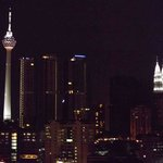 KL tower (left) and Petronas towers (right)