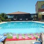 View of pool and Katerinas Taverna