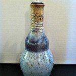 handmade pottery--olive oil dispenser