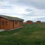 Le casettine di legno della Guesthouse Hof