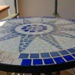 Наш столик на веранде