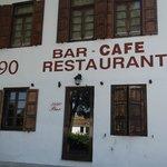The 1990 Restaurant opposite the Hotel