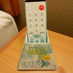 Clean remote (the answer to issues with remote cleanliness)