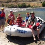 Fun on the river with Salmon Raft!