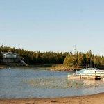 Lands End park beachfront. (river)