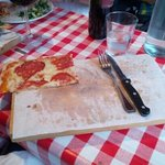 darn... almost finished pizza... delicious
