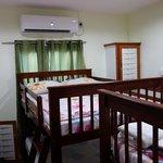 Bedroom of Miller's Guest House in Bucco village Tobago