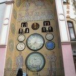 Часы на старой ратуше