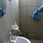 Bathroom of Guesthouse Albergo Alberga Paramaribo