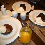 Desserts at Trattoria