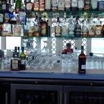 bar at the beach house