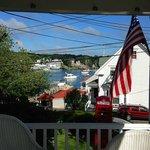 View from Greenleaf Inn porch