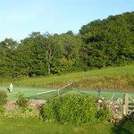 Fir Cottage tennis court