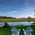 Relax by our private lake