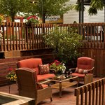 Enjoy our inviting outdoor areas