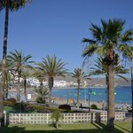 The lovely vieuw over the los cristianos ( las vistas ) beach