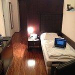Bett - Größenvergleich Laptop vs Bett