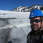 На Галдхопигген через ледник Svellnosbreen: плато ледника