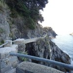 Beginning of Village walk, Monterosso