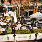 The sunniest patio in Yaletown